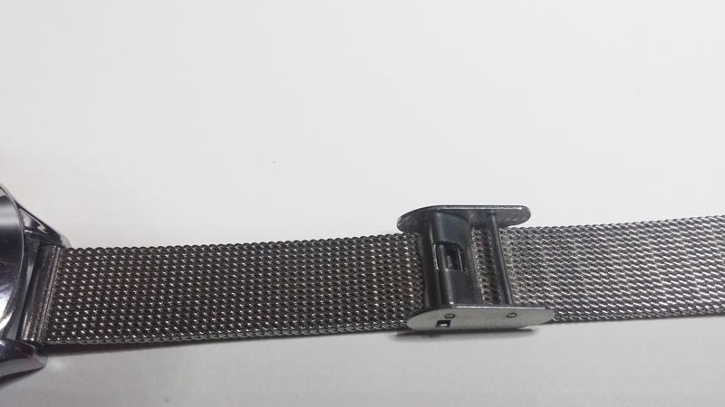 Ajustar correa de reloj de esterilla Milanesa