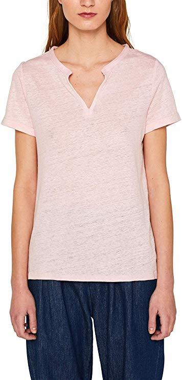 Camiseta de Lino para mujer chica