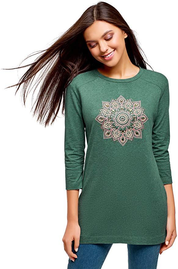 Camiseta de manga larga para mujer / chica