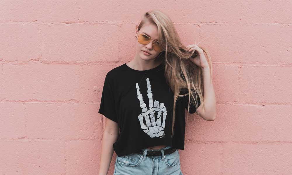 comprar camiseta para chica mujer