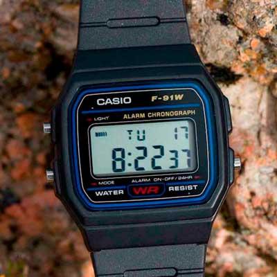 Opiniones Reloj Casio Unisex F-91W-1YER | análisis