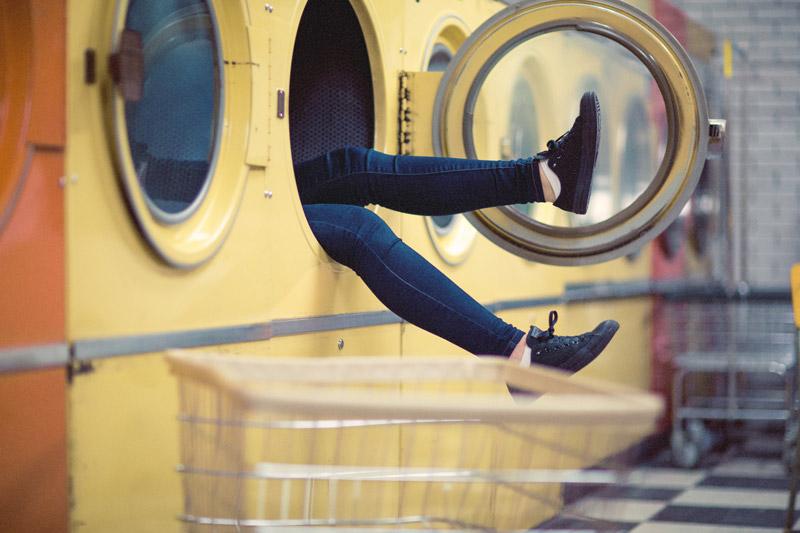 La lavadora puede tener gérmenes