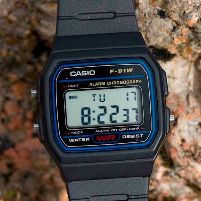 Reloj Casio Unisex Vintage-F-91W