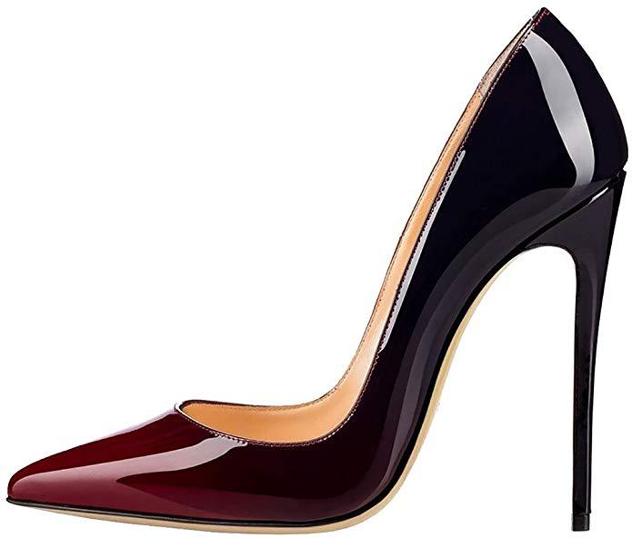 Zapato con tacón de aguja para mujer