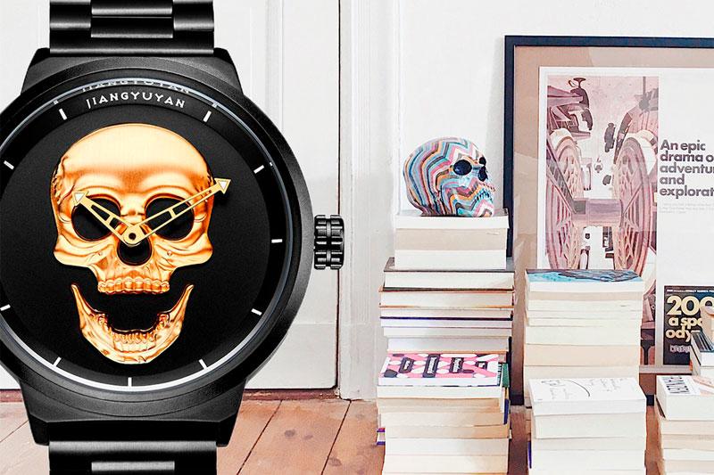 Relojes de pulsera con calaveras, Ofertas, los más baratos