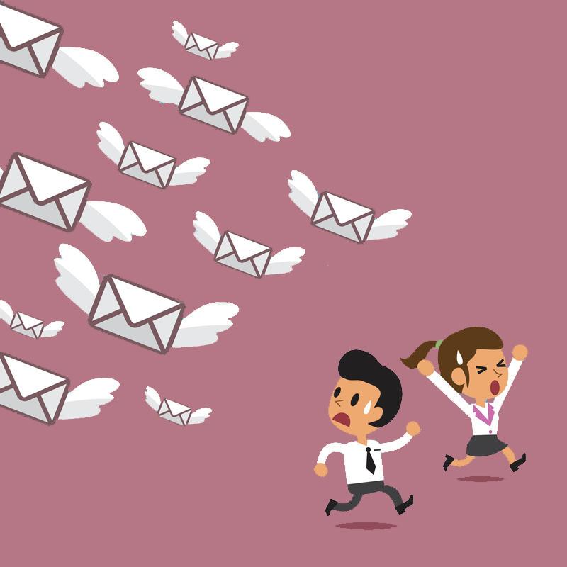 muchos correos