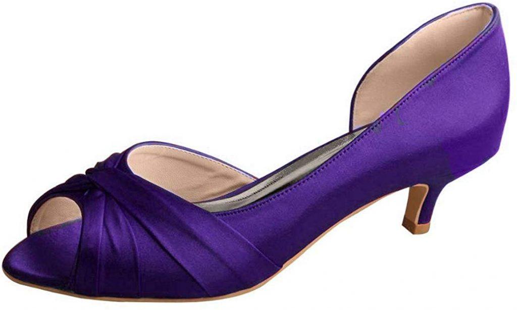 Zapato de tacón chupete para mujer